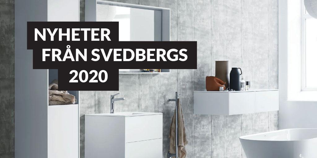 Badrumsmöbler från Svedbergs