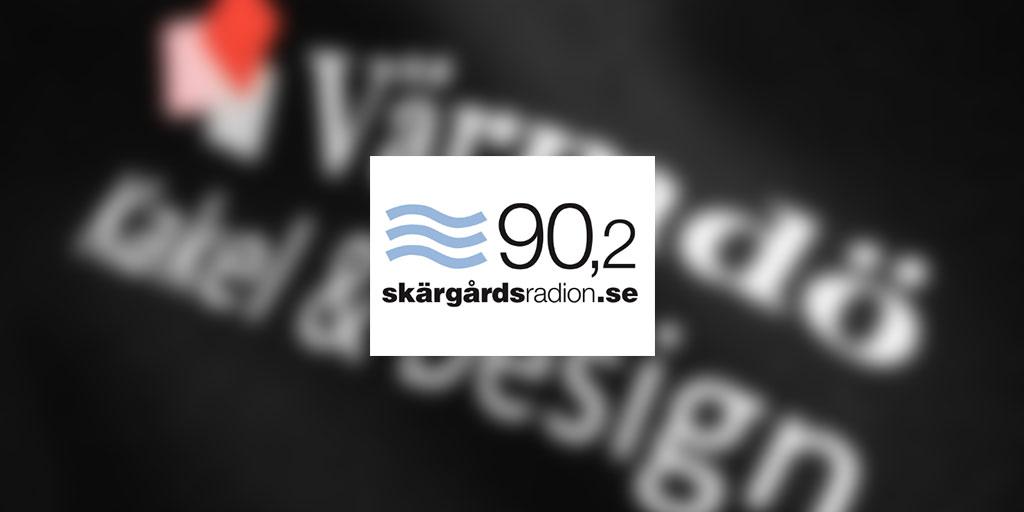 Radioreklam på Skärgårdsradion 90.2