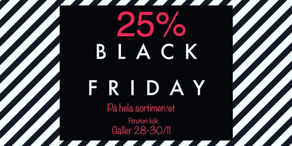 Black Friday på Värmdö Kakel